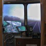 KZEL - 810 - kabina s ovladacimi prvky a projekci