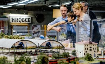 Království železnic / Interaktivní model Prahy | V Praze jako doma