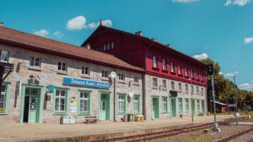 Železniční stanice – Železná Ruda-Alžbětín